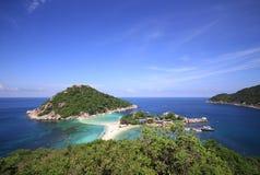 酸值Phangan海岛 免版税图库摄影