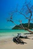 酸值rok或rok海岛,泰国 库存照片