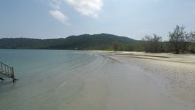 酸值rong在柬埔寨samloen海岛 影视素材