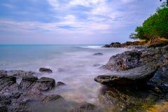 酸值Samed美丽的海岛  免版税库存照片