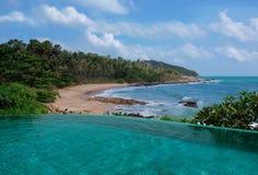 热带风景 库存图片