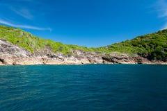 酸值Tachai海岛 免版税图库摄影