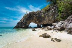酸值Talu海岛, Trang,泰国 免版税库存照片