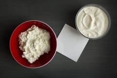 酸奶干酪大模型 库存照片