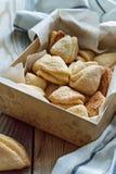 酸奶干酪饼干 免版税库存图片