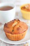 酸奶松饼用葡萄干 库存图片