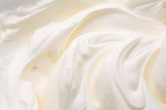 酸奶漩涡 免版税图库摄影