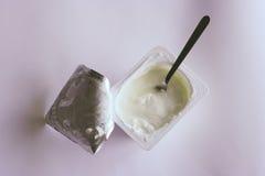 酸奶 库存图片