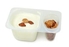 酸奶 免版税库存照片