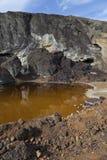 酸性水 免版税库存照片