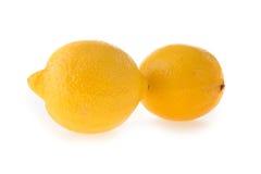 酸柠檬的果子 库存图片