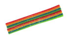 酸糖果被堆积的上面 免版税库存图片