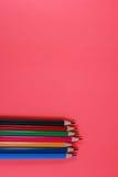 酸背景颜色书写在流行艺术样式的背景 免版税库存图片