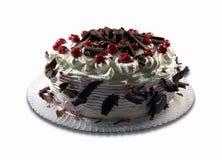酸蛋糕的樱桃 库存照片