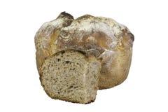 酸面团面包新鲜的被烘烤的大面包 免版税库存图片