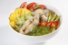 酸鱼汤(越南样式) 免版税库存图片