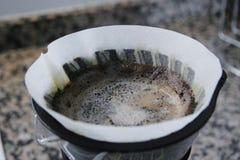 酿造咖啡 图库摄影