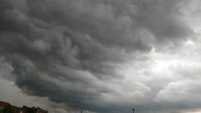 酿造夏天风暴 免版税库存照片