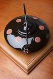 酿造木表的茶壶 库存图片
