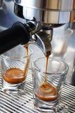 酿造浓咖啡 图库摄影