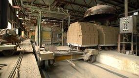 酿造 运输砖看法在车间 影视素材