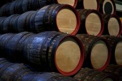 酿酒厂存贮 库存图片