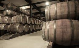 酿酒厂年迈的照片  库存照片
