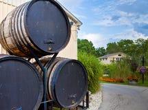 酿酒厂 库存照片