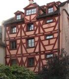 酿酒者房子纽伦堡 免版税库存照片