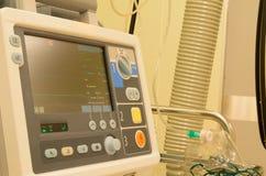 麻醉学者在手术前的手术室 库存照片