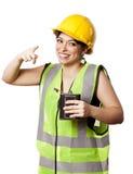 醉酒的酒精安全妇女 库存图片