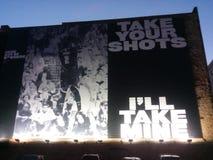 采取您的射击- I ` ll采取我的 免版税库存图片
