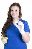 采取您的医学 免版税库存图片
