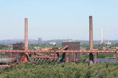 采煤停止的行业最小值 免版税库存照片