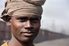 采煤印地安人工作者 库存图片