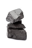 采煤堆 免版税库存图片