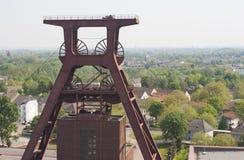 采煤复杂埃森ge行业最小值zollverein 库存图片