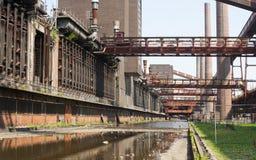 采煤复杂埃森ge行业最小值zollverein 免版税库存照片