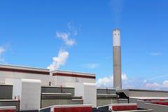 采煤被射击的次幂岗位 免版税图库摄影