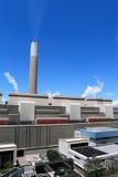 采煤被射击的次幂岗位 免版税库存图片