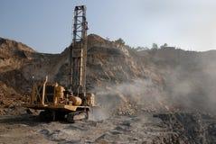采煤设备开采 库存照片