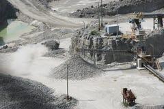 采石坑 库存图片