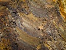 采矿矿石背景 库存图片