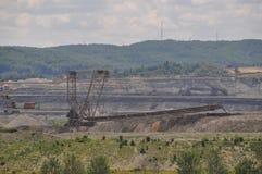 采矿设备 图库摄影