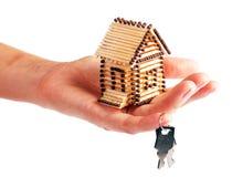 采购房子 免版税库存照片