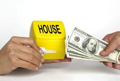 采购的家庭房屋销售 库存照片