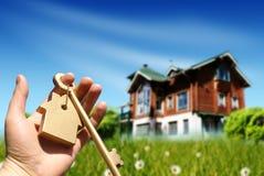 采购的概念房子 免版税库存照片