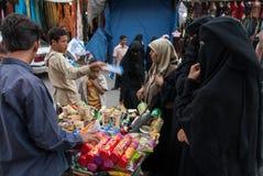 采购的饼干在也门 库存图片