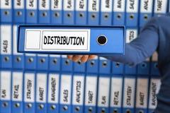 采购管理系统概念 发行战略概念 免版税库存图片