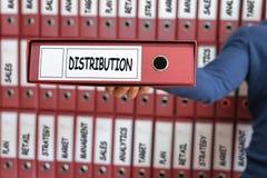 采购管理系统概念 发行战略概念 免版税图库摄影